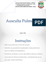 Oficina - Ausculta Pulmonar -Lacme