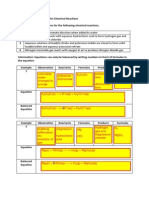 PEC140 SB3 Activity Sheet Chemical Reactions BDS