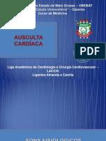 AUSCULTA CARDÍACA  - LACCIC