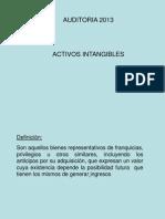 4089_Auditoria 2013 - Activos Intangibles