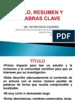 Titulo, Resumen y Palabras Clave.pptx
