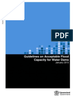 Acceptable Flood Capacity Dams