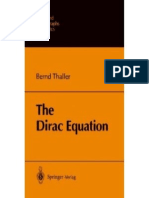 The Dirac Equation - Bernd Thaller