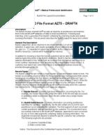 Std75 Format