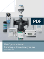 Siemens HVAC General Product Catalogue