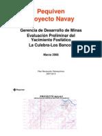 Sector La Culebra-Los Bancos; Proyecto Navay