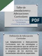 Taller de Acomodaciones y Adecuaciones Curriculares.pptx