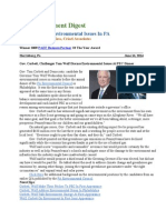 Pa Environment Digest June 16, 2014