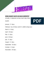 time conversation