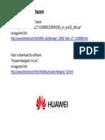 Config HUAWEI - WebLCT Install