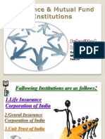 Insurance & Mutual Fund Institutions