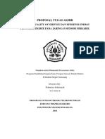 Proposal Analisis Peningkatan Performa Protokol Zigbee Pada Jaringan Sensor Network
