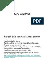 Java and Flex