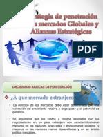 Estrategias de Penetracion a Los Mercados Globales