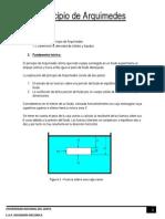 Principio de Arquimides-laboratorio