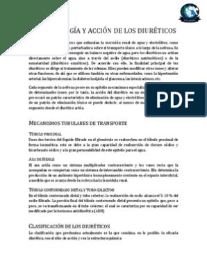 diureticos ahorradores de potasio mecanismo de accion pdf
