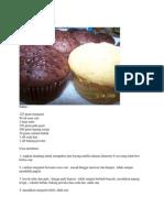 Resep Cupcakes Coklat Kukus