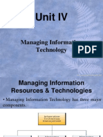 Managing Information Resources and Technologies