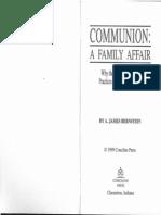 Communion Family Affair
