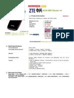 Zte Ac30 Mifi Router