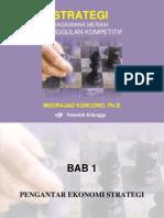 Strategi - Mudrajad Kuncoro