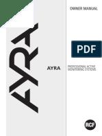 Ayra Monitor Manual RevC