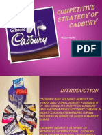 Competitive Strategy Of cadbury