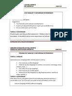 Expresión Oral Inglés Intermedio