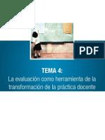 La Evaluacion en La Rieb 2011