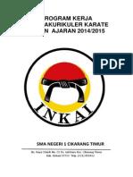 Absensi Ekstrakurikuler Karate