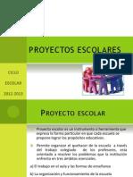 Proyecto Escolar SUPERVISIÓN 2013