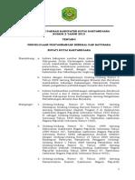Perda No. 2 Tahun 2013 Pengelolaan Pertambangan Mineral Dan Batubara