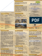 Call for Papers Pit-xviii 2014