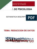 Clase5 Estadigrafos Est Desc 2009ii