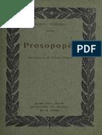 Prosopea - Bento Teixeira