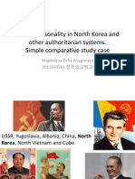Cult of Personality in North Korea