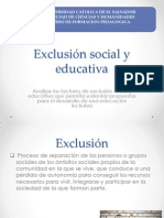 exclusin social y educativa
