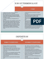 2.Direct Expenses and Indirect Expenses