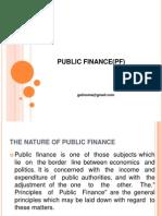 Lecture 1 Public Finance Cpa