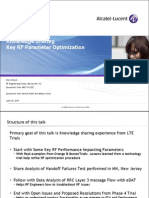 TTP30024 - RF Parameter Optimization