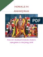 Morals in Ramayana