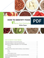 How to Identify Food Trends White Paper