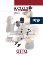 Two-Way Radio Accessories Catalog