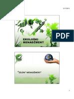 Ekoloski menadzment