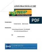 Compensation Practices at Nbp
