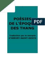 Hervey de Saint-Denys_Poésie de l'Époque Des Thang