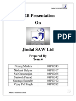 research report on jindal steel and power