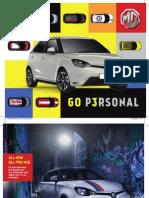 MG3 Brochure