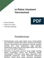 Isu – Isu Dalam Akuntansi Internasional