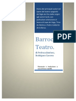 Barroco. Teatro. Tradotto in italiano.